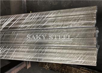 pacchettu 304 Stainless Triangle Steel Bar