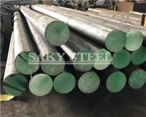 Leundutako distiratsua azalera 316 Altzairu Steel Round Bar