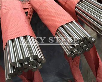Leundutako distiratsua azalera 316 Altzairu Steel Round Bar aipagarriak Image