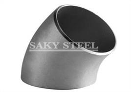 ASME B16.9 SS 45 ° Long radius Elbow