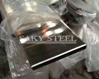 Mirro stainless steel flat bar