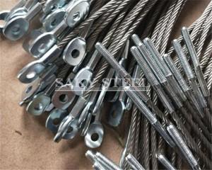 stainless steel kabel telas tali sling