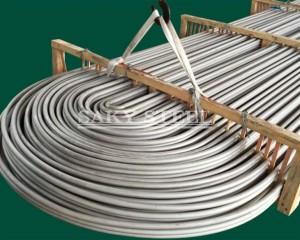 Heat exchanger condenser stainless steel tube
