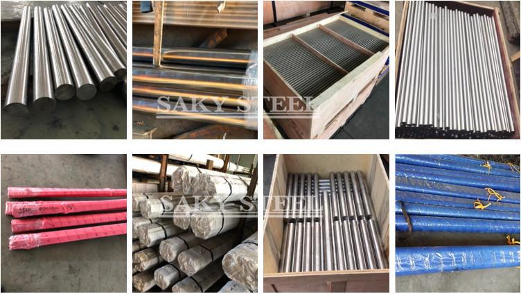 Faalava Duplex faataamilo Steel UNS S31803 afifiina