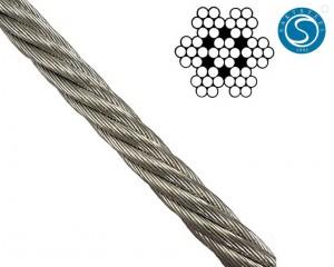 China pabrik Aisi tali kawat 304 stainless steel